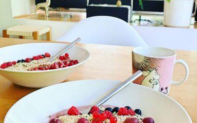 Wake Up Whipped Berry Porridge