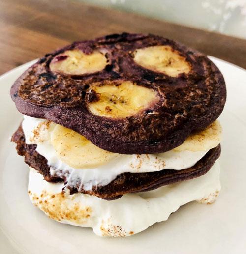 Bananen-Pancakes à la Miia