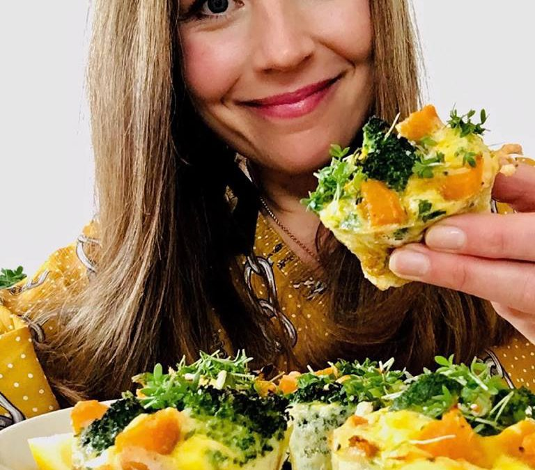 Süßkartoffel-Brokkoli-Muffins